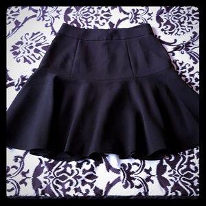 Catherine Malandrino Short Black Skirt